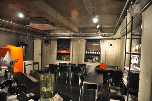 Chan's - Inside view