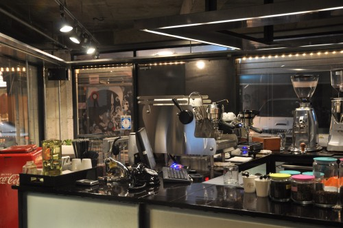 Chan's - the Synesso and the La Marzocco GS/3