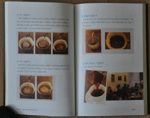 Hand Drop Coffee Book - Learn the circles when making hand drip coffee!
